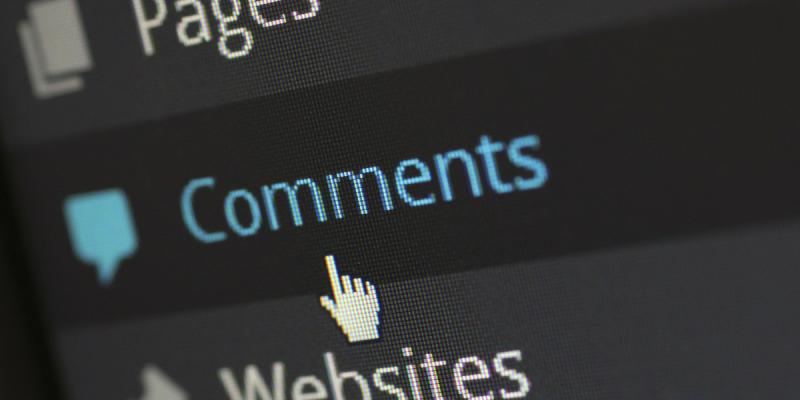 Kommentar (Image by pixelcreatures(CC0 Public Domain)via Pixabay