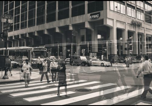Rush Hour (adapted) (Image by Justin Wolfe [CC BY 2.0] via flickr)