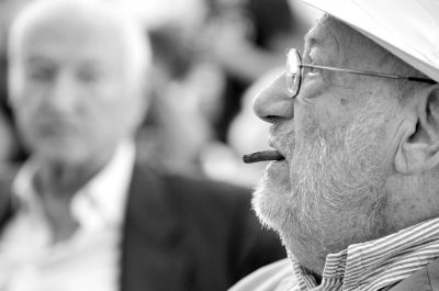 Umberto Eco (e Piero Angela) #festivalcom (adapted) (Image by Alessio Jacona [CC BY-SA 2.0] via flickr)