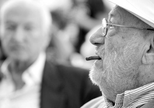Umberto Eco (e Piero Angela) #festivalcom (adapted) (Image by Alessio Jacona [CC BY-SA 2.0] via flickr)