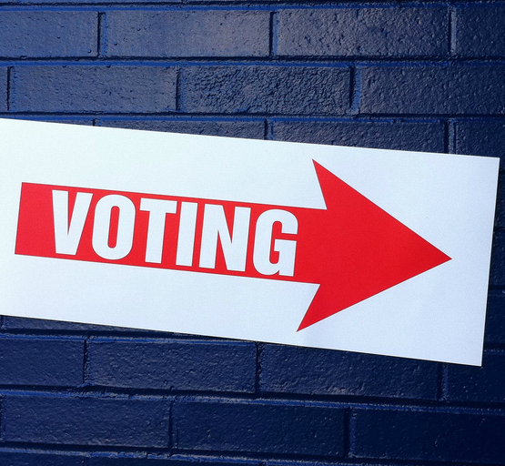 Voting (adapted) (Image by justgrimes [CC BY-SA 2.0] via flickr)