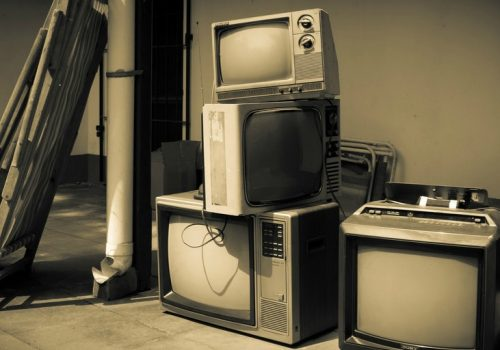 old tv stuff (adapted) (Image by Gustavo Devito [CC BY 2.0] via flickr)