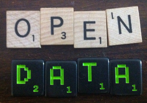 open data (scrabble) (adapted) (Image by justgrimes [CC BY-SA 2.0] via flickr)