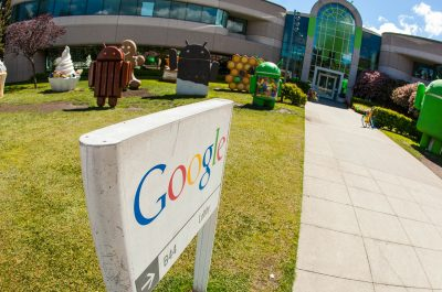 Android Garden - Google Mountain View Office (adapted) (Image by Anthony Quintano [CC BY 2.0] via flickr)