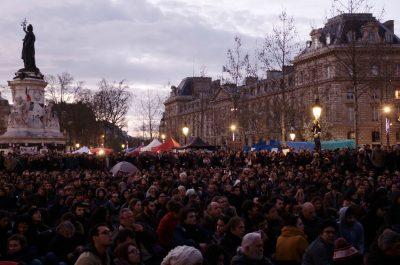Nuit Debout Paris (adapted) (Image by Nicolas Vigier [CC0 Public Domain] via flickr)