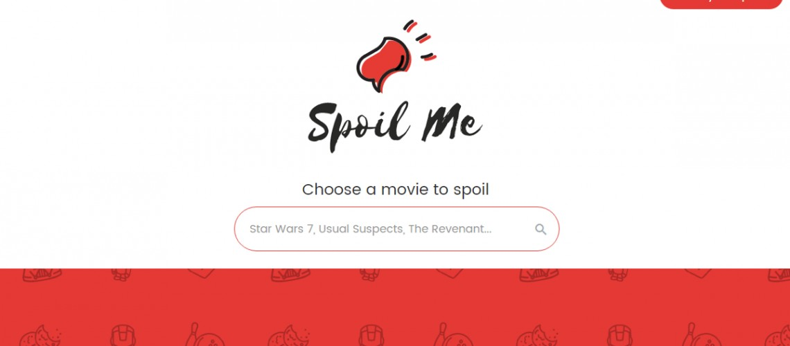 Spoil Me Website (Image via Screenshot)