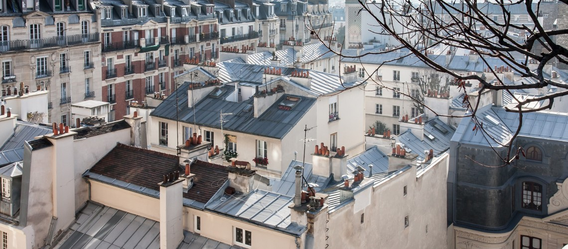 Toits de Paris soleil d'hiver, novembre 2014 (image (adapted) by Jean-François Gornet (CC BY-SA 2.0) via Wikimedia Commons)