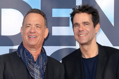 Tom Hanks und Tom Tykwer (image by X Verleih)