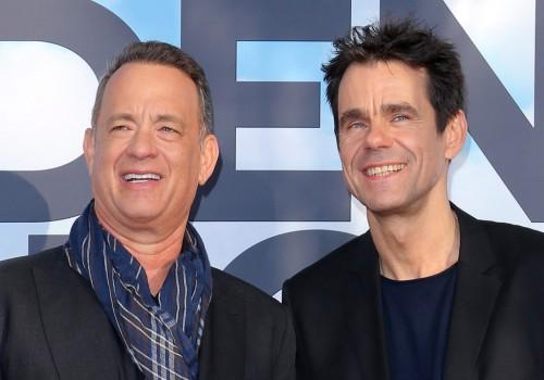 Tom Hanks und Tom Tykwer (image by X Verleih)