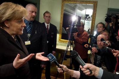 Angela Merkel, EPP Summit Helsinki 4 March 2011 (adapted) (Image by European Peoples Party [CC BY 2.0] via Flickr)