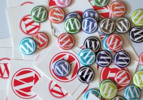 New WordPress Buttons and Stickers (adapted) (Image by Nikolay Bachiyski [CC BY 2.0] via Flickr)