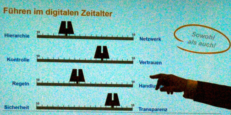 Führen im digitalen Zeitalter (Image by Gunnar Sohn)
