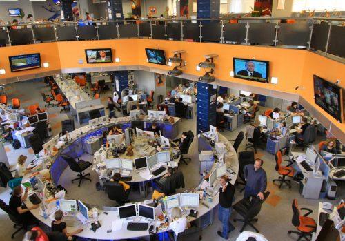 Newsroom von RIA Novosti in Moskau 5 (adapted) (Image by Jürg Vollmer [CC BY-SA 2.0] via Flickr)