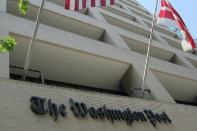 Washington, DC, June 2011 The Washington Post (adapted) (Image by Daniel X. O'Neil [CC BY 2.0] via flickr)