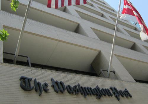 Washington, DC, June 2011 The Washington Post (adapted) (Image by Daniel X. O'Neil [CC BY 2.0] via flickr)