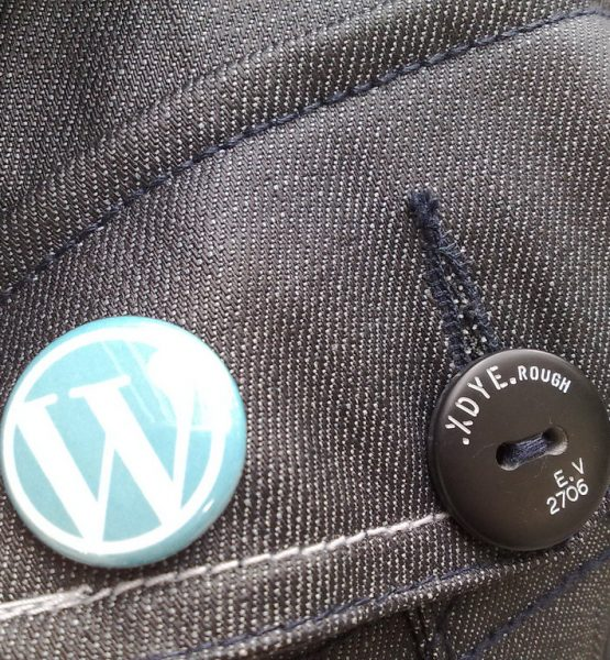 Wordpress Button Closeup (adapted) (Image by Titanas [CC BY-SA 2.0] via Flickr)