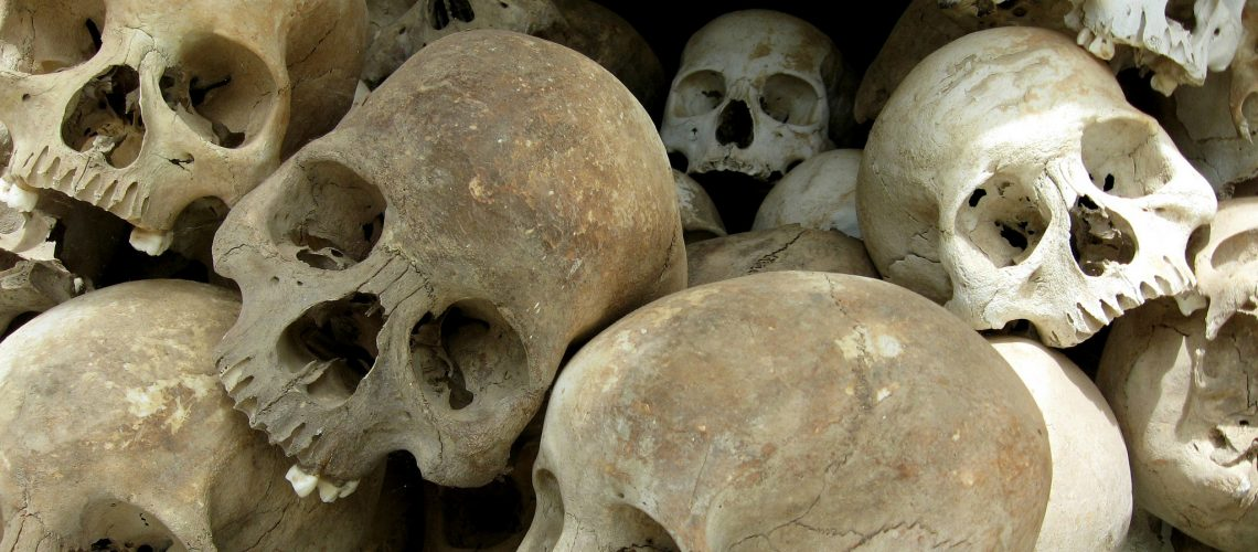Skulls (adapted) (Image by Volitare88 [CC BY 2.0] via flickr)