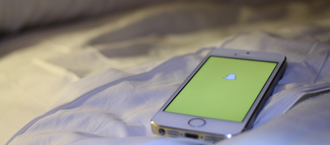 Snapchat (adapted) (Image by Maurizio Pesce [CC BY 2.0] via Flickr)