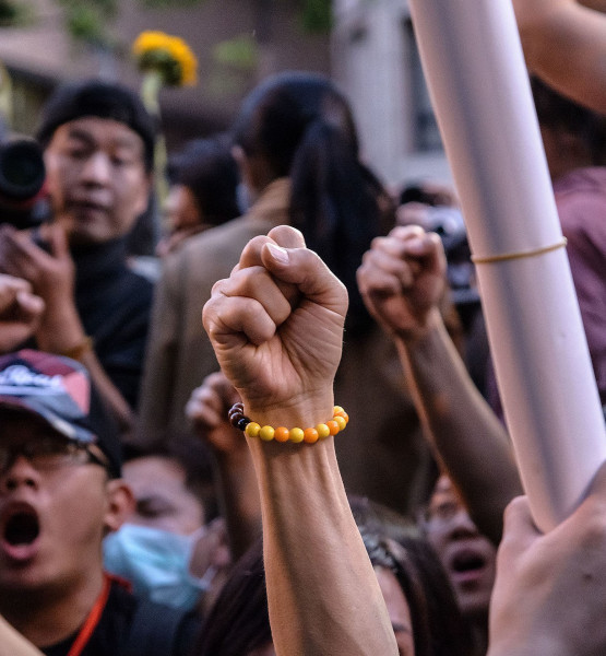 Students' mass protest Taiwan (Image by Artemas Liu [CC BY 2.0], via Wikimedia Commons