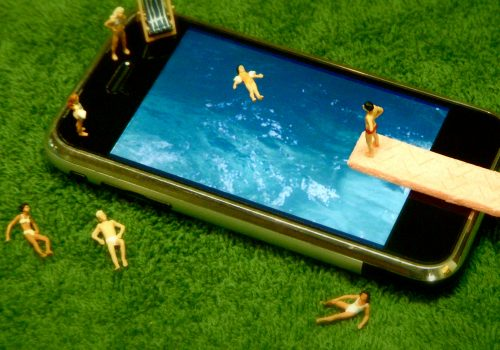 Swimming In The iPool (adapted) (Image by JD Hancock [CC BY 2.0] via Flickr)