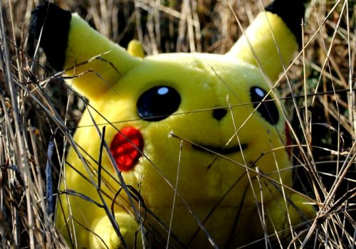 WILD PIKACHU APPEARS (adapted) (Image by Sadie Hernandez [CC BY 2.0] via Flickr)