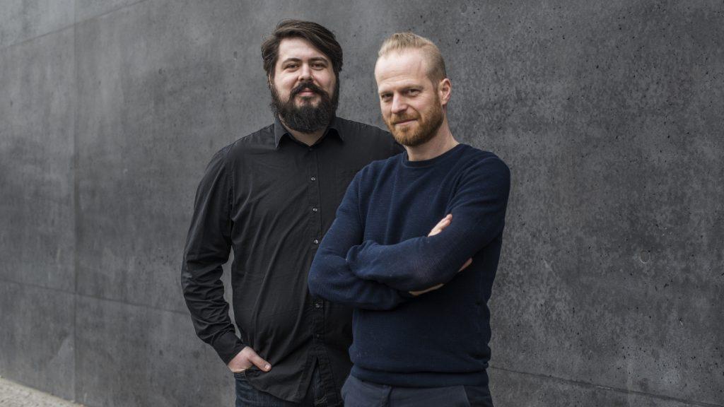 Gründer des Instituts für Neue Arbeit: Tobias Schwarz und Ansgar Oberholz (Foto: Carolin Saage)