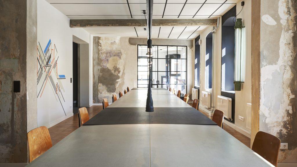 Das Coworking Space im neuen St. Oberholz in der Zehdenicker Straße 1 (Foto: St. Oberholz)
