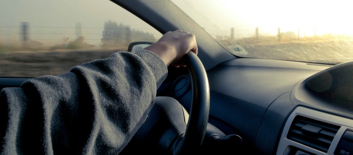 DRIVING IN THE MORNING (adapted) (Image by Eliecer Gallegos [CC BY-SA 2.0] via flickr)
