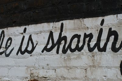 Life is Sharing (adapted) (Image by Alan Levine [CC by 2.0] via flickr)