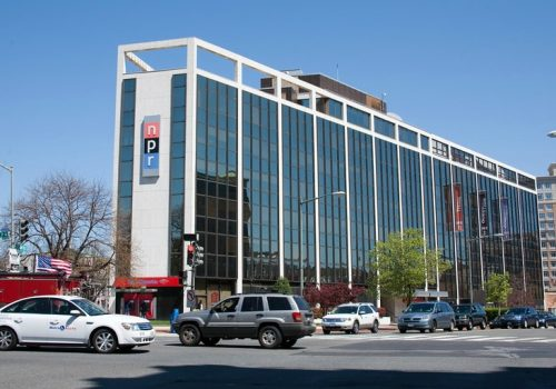 NPR Building (adapted) (Image by Cliff [CC BY 2.0] via flickr)