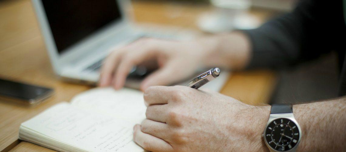 writing (image by Unsplash [CC BY 1.0] via Pixabay)