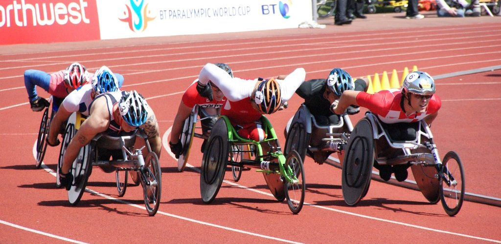 BT Paralympic World Cup 2009 Athletics Men's T54 - 800 Metres. (adapted) (Image by Stuart Grout [CC BY 2.0] via flickr)