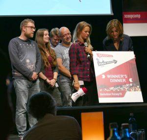 Die Gewinner des Hackathon (Image by Marina Blecher)