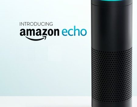 Amazon_Echo (adapted) (Image by Scott Lewis [CC BY 2.0] via Flickr)