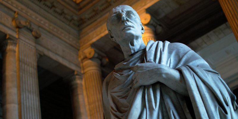 Cicerón (Marcus Tullius Cicero) (adapted) (Image by sn6200 [CC BY 2.0] via Flickr)