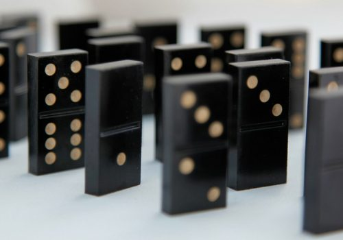 Domino's (adapted) (Image by David Pacey [CC BY 2.0] via Flickr)