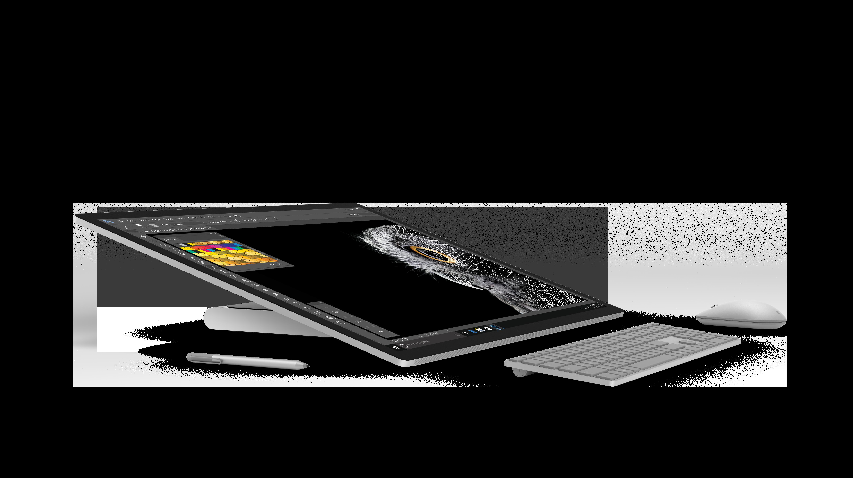 kreativ offensive von microsoft neuer komplett pc surface. Black Bedroom Furniture Sets. Home Design Ideas