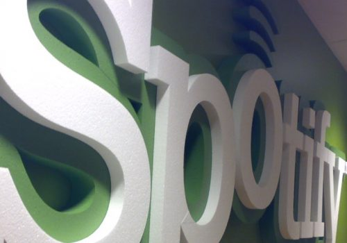 Spotify HQ (adapted) (Image by Sorosh Tavakoli [CC BY 2.0] via Flickr)
