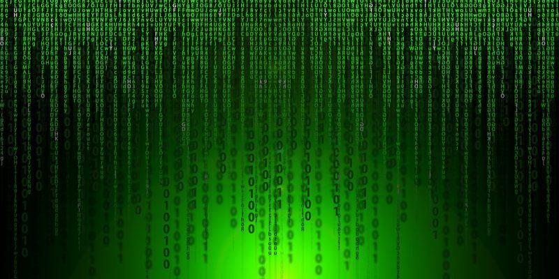 Matrix, Code, chiffriert, grün, HTML, Code, Daten