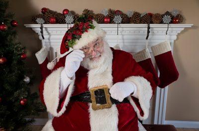 Santa Claus, Weihnachtsmann, Weihnachten, Coca-Cola, Kamin, Weihnachtsbaum, Tannenbaum, Tanne, grün, Grün