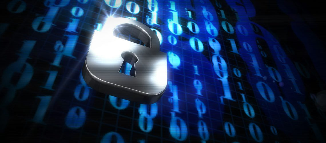 Dezimalsystem, Null, Eins, 0, 1, Schloss, Vorhängeschloss, Sicherheit, Datenschutz, Data
