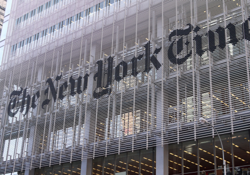 New_York_Times (adapted) (Image by Samchills [CC BY 2.0] via Flickr)