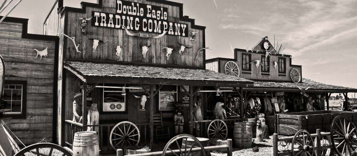 The Wild West (adapted) (Image by Chris Bickham [CC BY 20] via flickr)