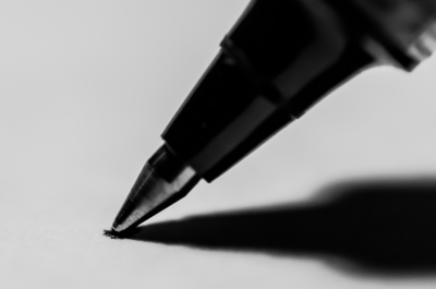 [108/366] Pen to Paper (adapted) (Image by Dwayne Bent [CC BY-SA 2.0] via Flickr)