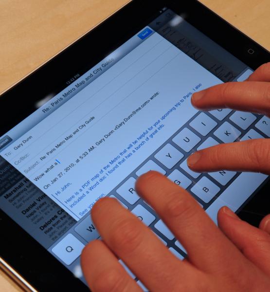 Apple iPad Event (adapted) (Image by Matt Buchanan [CC BY 2.0] via Flickr)