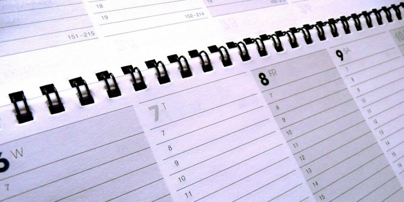 Business Calendar & Schedule (adapted) (Image by photosteve101 [CC BY 2.0], via flickr)