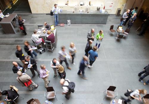 Creative Company Conference 2011 (adapted) (Image by Sebastiaan ter Burg [CC BY-SA 2.0] via Flickr)