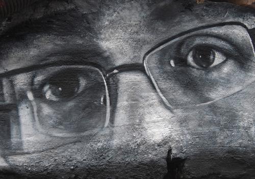 Edward Snowden eyes DDC_8315 (adapted) (Image by thierry ehrmann [CC BY 2.0] via Fickr)