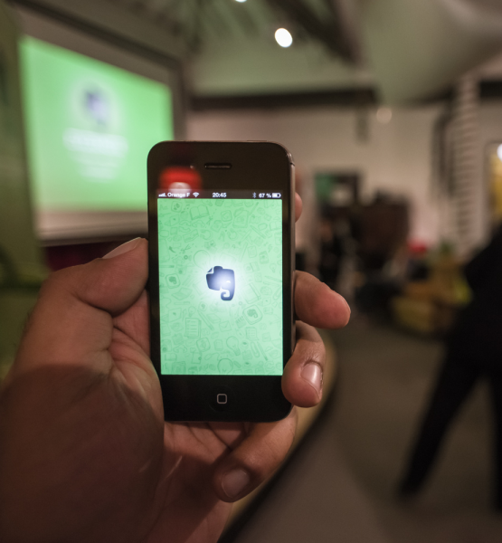 Evernote Meetup Paris (adapted) (Image by Heisenberg Media [CC BY 2.0] via Flickr)