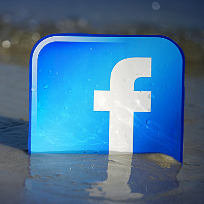Facebook Beachfront (adapted) (Image by mkhmarketing [CC BY 2.0] viaFlickr)